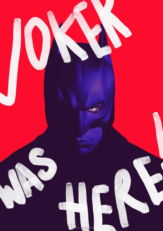 Batman by Flore Maquin