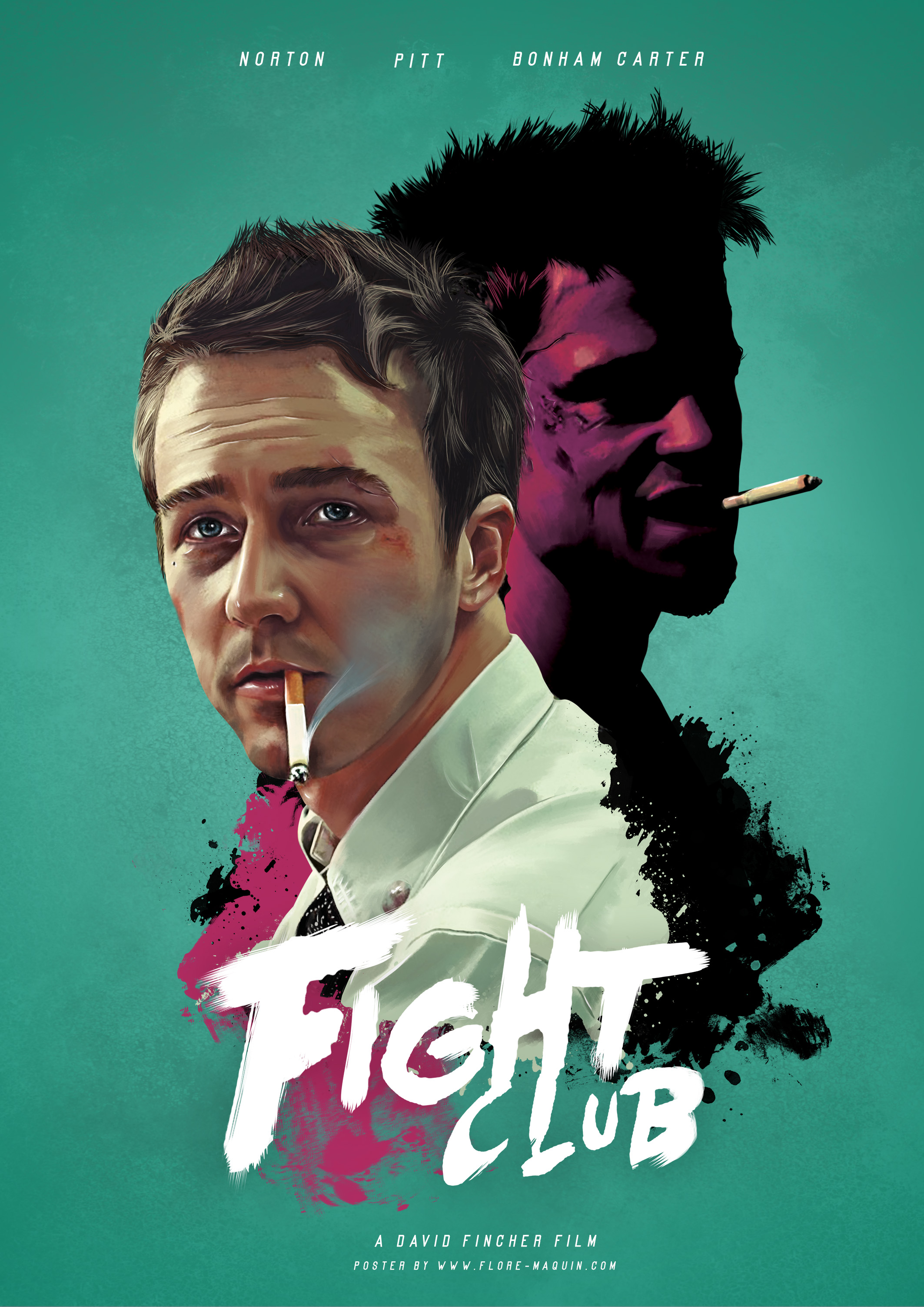 Flore Maquin - Fight Club