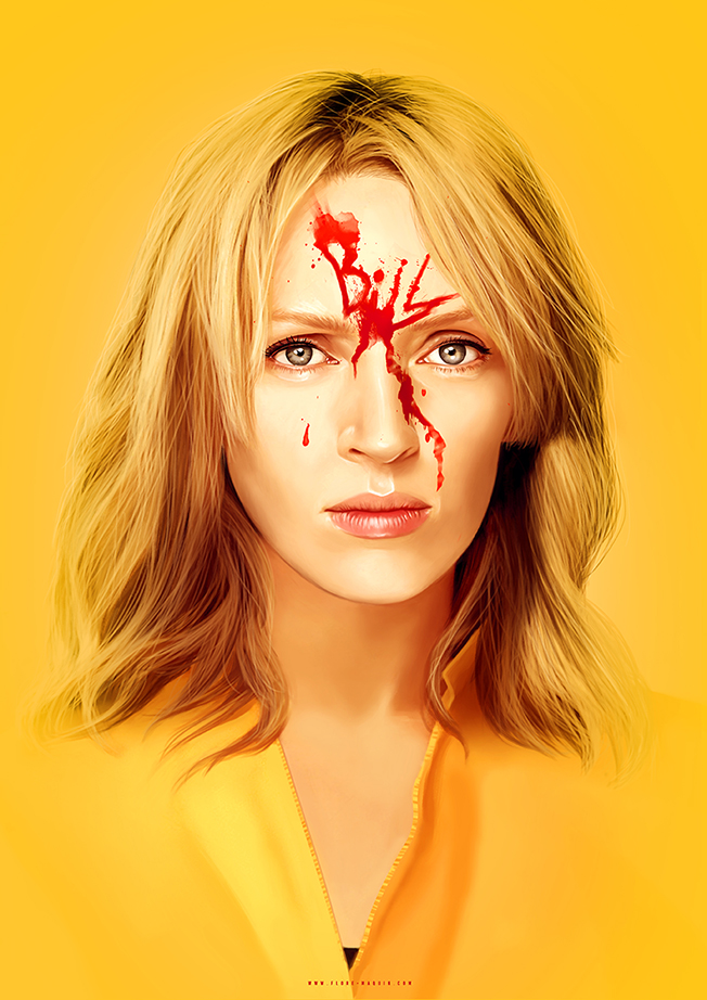 Kill Bill by Flore maqun
