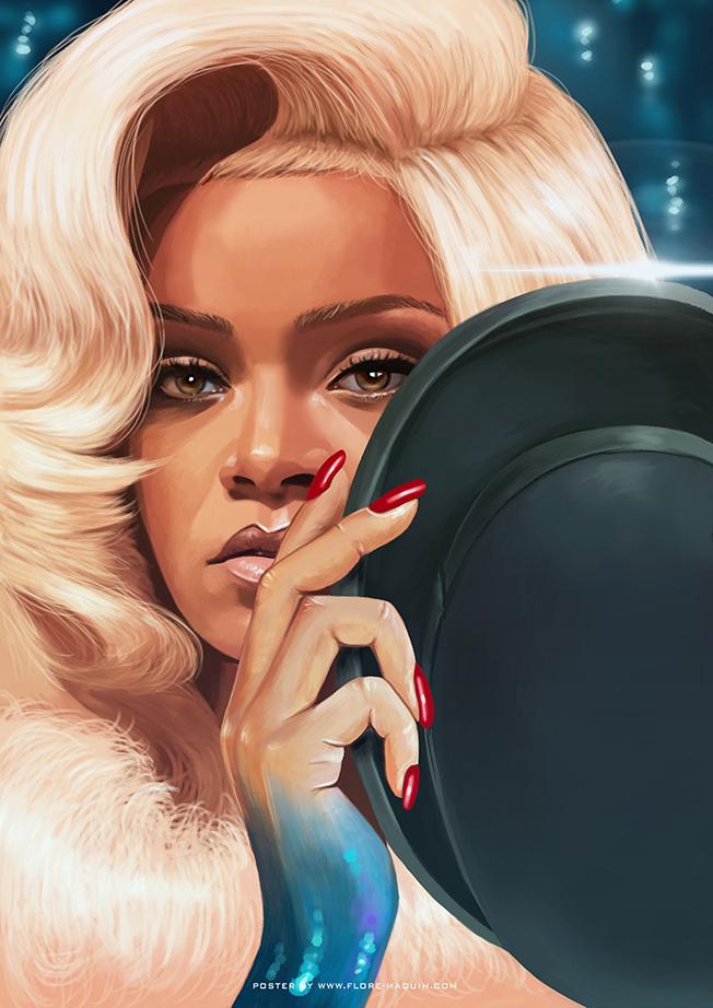 Rihanna_FloreMaquin