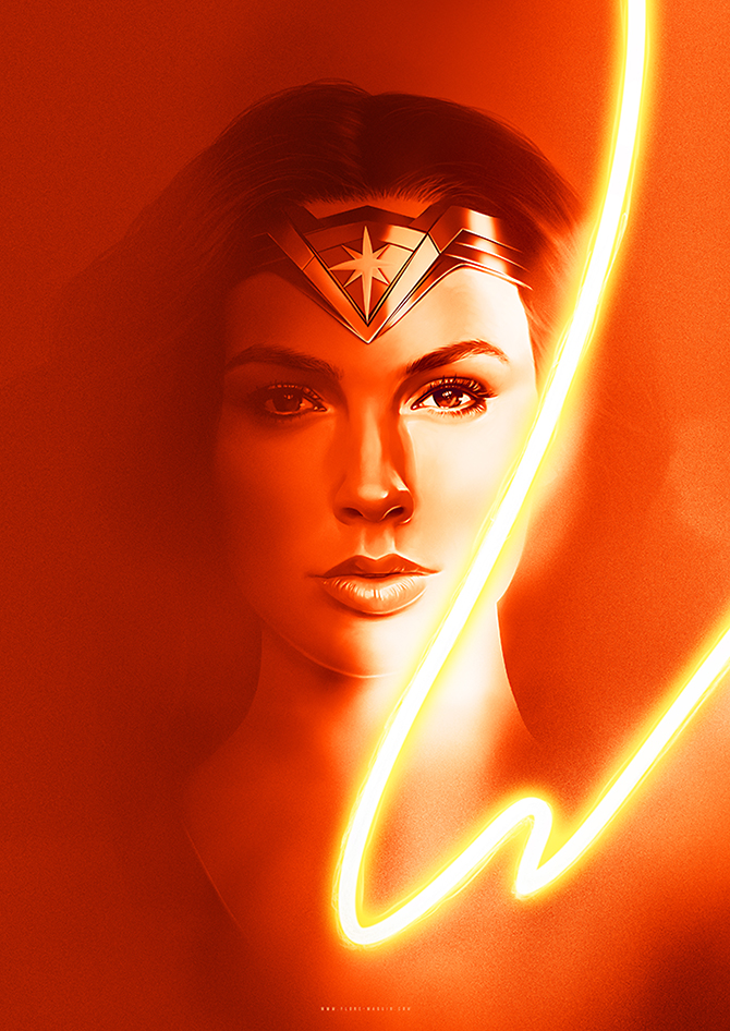 Wonder Woman by Flore Maquin